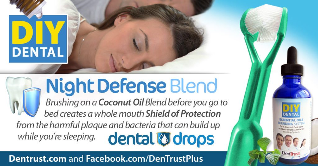 Dental Drops: Night Defense Blend