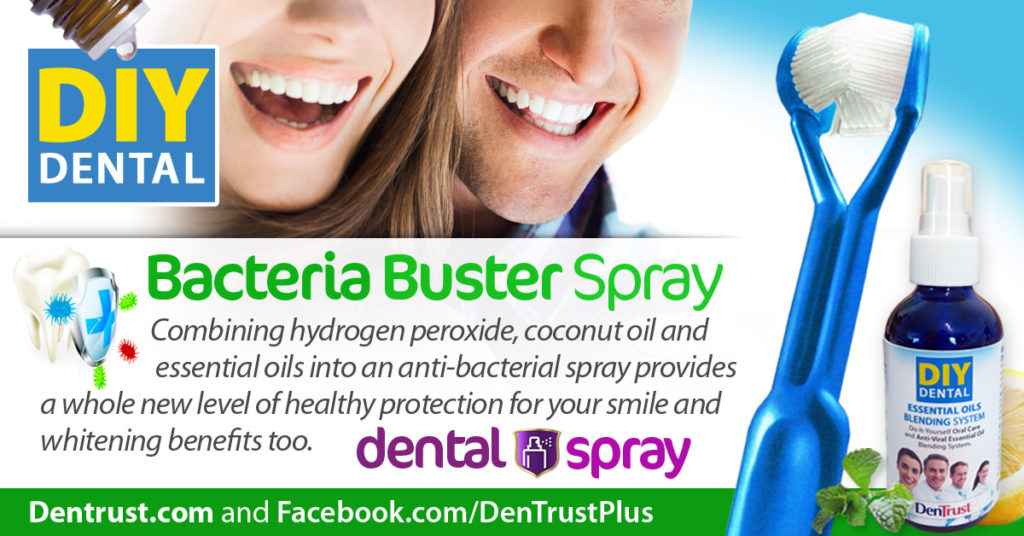 Dental Spray: Bacteria Buster Blend
